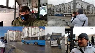 Дмитрий Рудов в Воронеже! Поездка по городу и обсуждение троллейбусных сетей Воронежа и Белгорода.