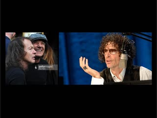 Angus Young & Brian Johnson of AC/DC - Howard Stern Show (2014)