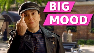 Alex Borstein in The Marvelous Mrs. Maisel is the BIGGEST Mood