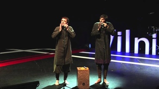 Jew's Harp, Listen and You Will Hear It: Valentinas & Viaceslavas at TEDxVilnius