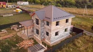 Строим дома из полистиролбетона: все работы от котлована и фундамента до кровли делаем сами