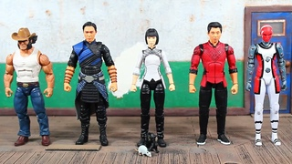 Marvel Legends Shang Chi And The Legend Of The Ten Rings Movie, Mr Hyde BAF Wave XIALING Review!
