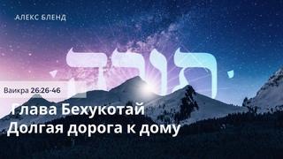 02 Долгая дорога к дому. Недельная глава Бехукотай. Ваикра 26:26-46