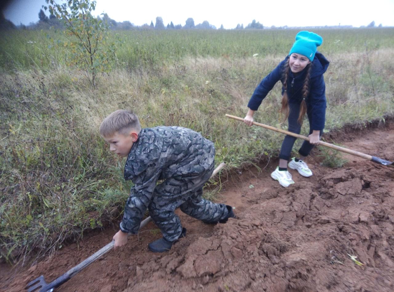Ещё одно доброе дело школьников Можгинского района