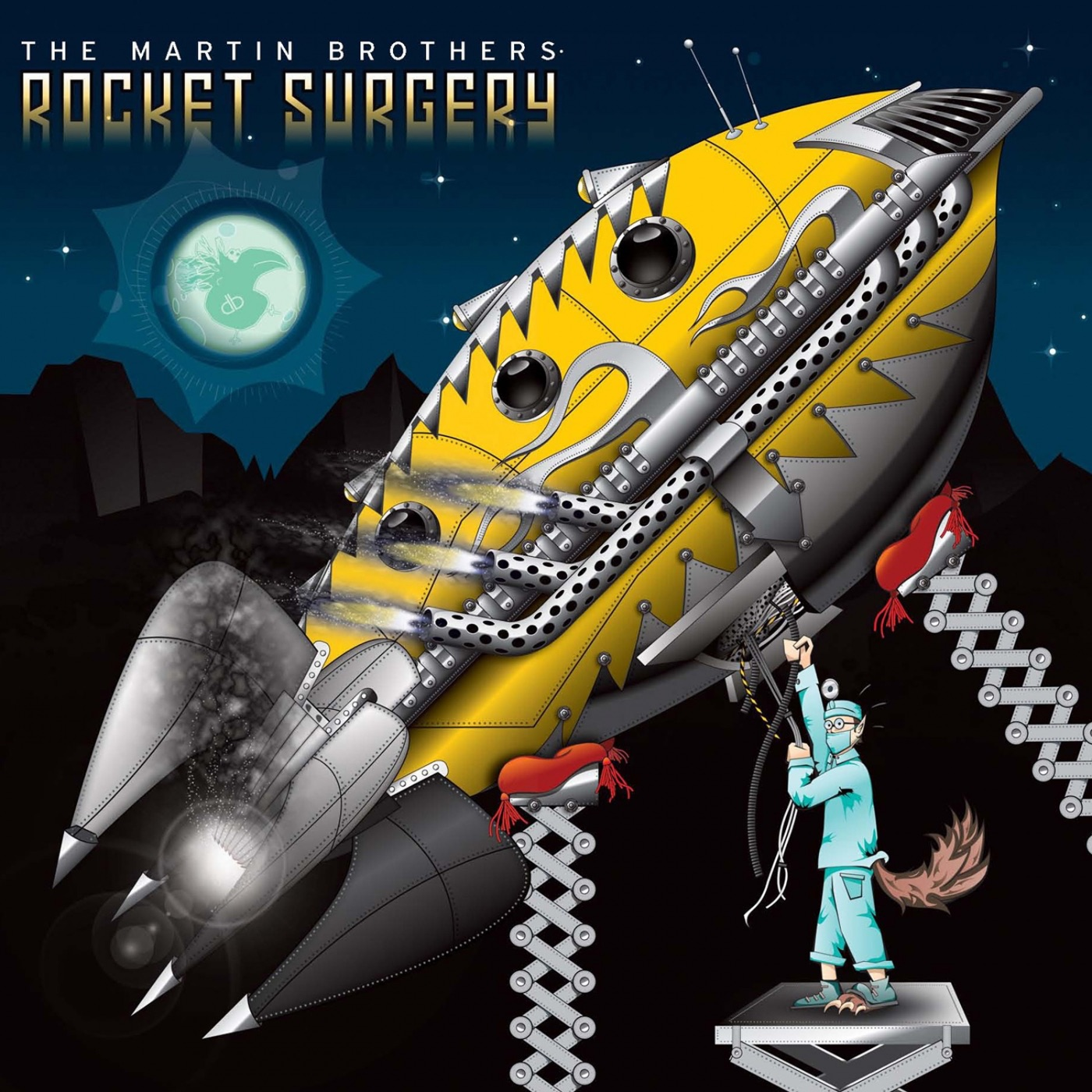 The Martin Brothers album Rocket Surgery - EP