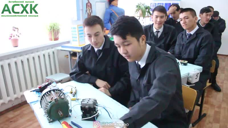 Ақтөбе жоғарғы ауылшаруашылық колледжіндегі Телеарнасыннан үзінді видеоролик
