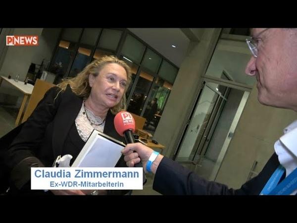 Druck bei GEZ Medien von oben nach unten Ex WDR Mitarbeiterin Claudia Zimmermann im Interview