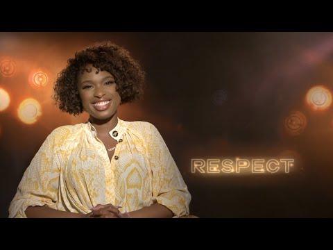 RESPECT movie interviews Jennifer Hudson Marlon Wayans Marc Maron talking Aretha Franklin film