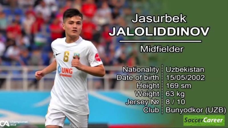 Dunyon Xayrtaga Solgan O'zbekistonlik Messi Jasur Jaloliddinov Daxshat Fintlar va Gollari 26 07