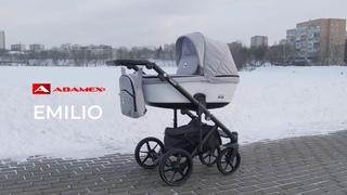 ADAMEX EMILIO (Адамекс Эмилио). Видео обзор отличной коляски на бюджет 30 тыс. руб.