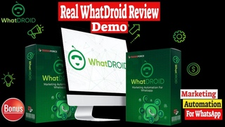 🆕Real WhatDroid Review Demo 🆕WhatDroid Review Demo 🔥[Top Video]