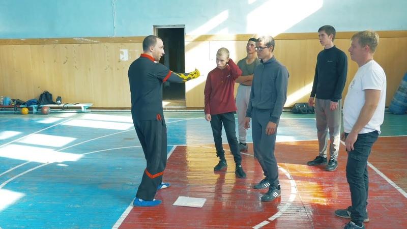 Stikhiya Wing Chun Поворот в стойке 身马 и прямые удары 力环拳