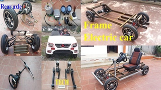 Homemade electric vehicles with independent suspension and oil disc brakes