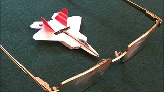 """F-22 Raptor, 1:200 Scale, 2.6"""" Wing Span, Radio Controlled"""