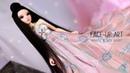 Painting BJD Fairyland Minifee Chloe Jade Rabbit Tang Dynasty Clothing Angell Studio, OOAK Collab