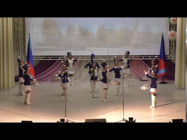 Коллектив барабанщиц Краснодонской детской школы искусств им Анатолия Корягина