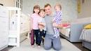 Белый парус Пока мама на занятиях с двойняшками и малышом, учим новую песню 🎵