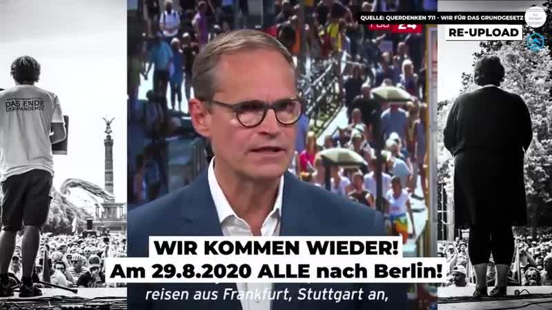 BfeD - Demo-Aufruf - WIR KOMMEN WIEDER - 29.08.2020 - BERLIN invites Europe