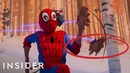 How 'Spider Man Into The Spider Verse' Was Animated Movies Insider