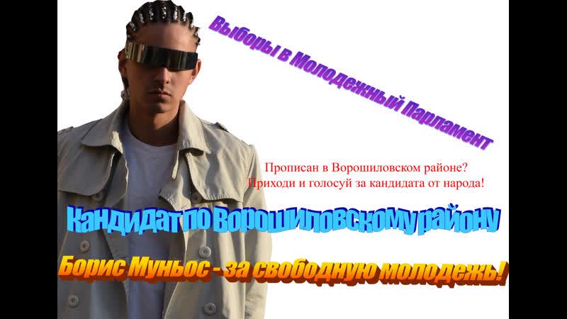 Борис Муньос кандидат в депутаты