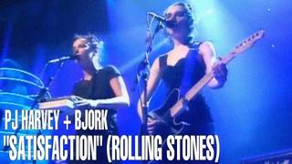 Björk and PJ Harvey - I Can't Get No Satisfaction (1994 BRIT Awards Live)