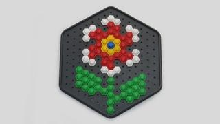 Аленький цветочек   Как собирать мозаику   Развивающая игра