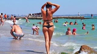 Одесса 2020 МОРЕ СЕГОДНЯ / Можно ли КУПАТЬСЯ В МОРЕ?! Цены на пляже / ODESSA BEACH