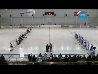 Хоккейный матч Россия - Сербия  Фрагмент передачи ТРК  Ника ТВ (Калуга) .