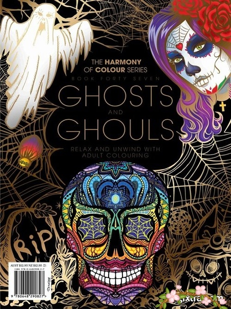 2018-09-01 Colouring Book  Ghosts and Ghouls