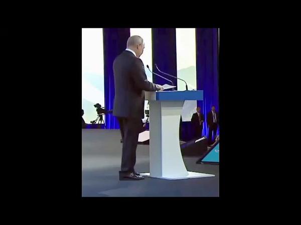 Путин сказочный Как Пыня на пынеходах трибуну дрючил