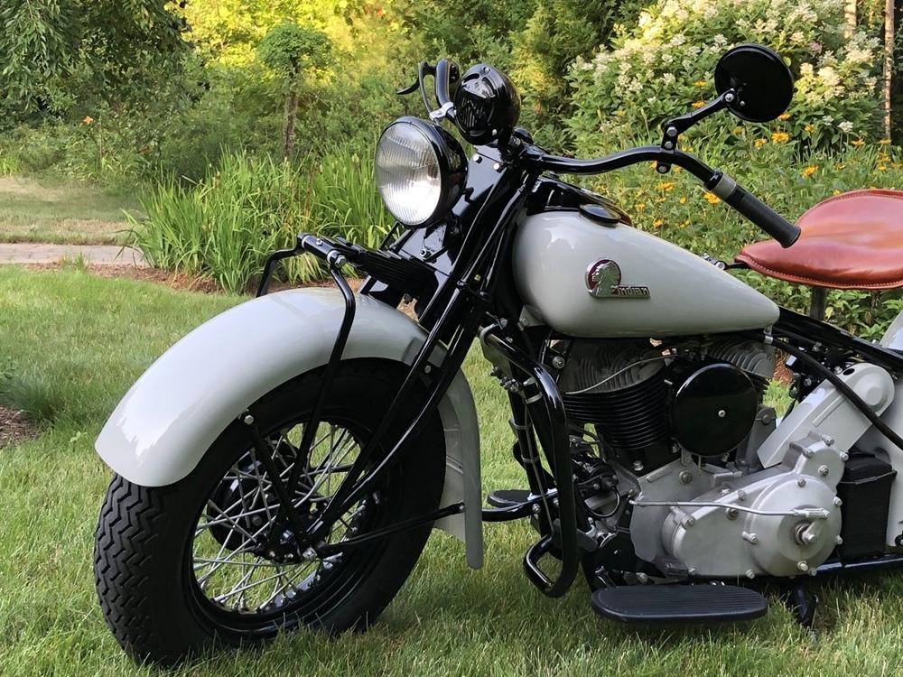 Мотоцикл Indian Chief Essential Service 1945