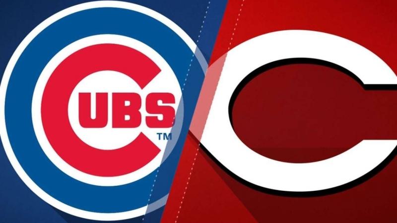 NL 20 05 2018 CHI Cubs @ CIN Reds 4 4