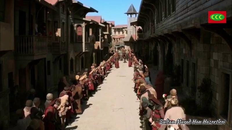 Revan Fatih'i Sultan IV Murad Han İstanbul halkı tarafından karşılanıyor.