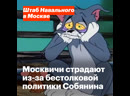 Москвичи страдают из-за бестолковой политики Собянина