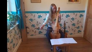 13 - Gastoldi duos -  No. 1 tenor viol