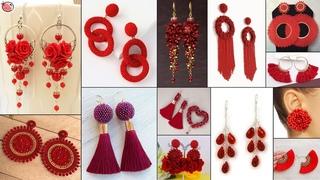 Trendy!!! Red Hot Earring - Daily Wear For Girls Fancy Dresses