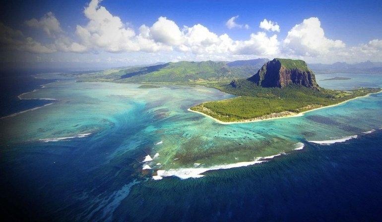 Подводные водопады на Маврикии, изображение №3