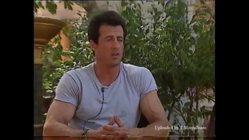 Sylvester Stallone with Danny Behr 1993