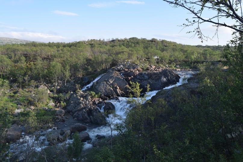 Водопад на реке Юринга