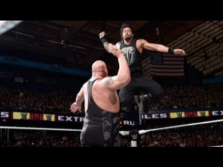 (WWE Mania) Extreme Rules 2015 Roman Reigns vs. Big Show – Last Man Standing Match