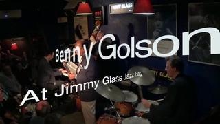 "Benny Golson 4Tet at Jimmy Glass Jazz Bar  ""Mr.  P. C."""