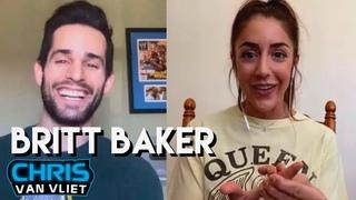 How Britt Baker and Adam Cole met, her heel turn, Tony Schiavone, AEW Women's Title, being a dentist