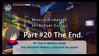[Real PS2]Crash MoM #20: Neo Cortex Defeat. The Ending