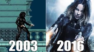 Evolution of Underworld Games [2003-2016]