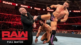 FULL MATCH - Drew McIntyre vs. The Miz vs. Baron Corbin - Triple Threat Match: Raw, Apr. 22, 2019