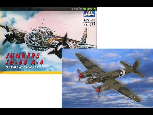 В мире моделизма выпуск 105 Junkers Ju 88