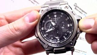 Часы Casio G-SHOCK MTG-G1000D-1A - Инструкция, как настроить от