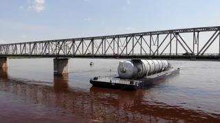 Необычное ЧП произошло в понедельник, 21 июня, на реке Зея в Благовещенске Амурской области.