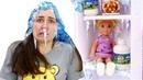 Куклы Барби и Тереза на уроке домоводства - Я не хочу в школу - Видео для девочек про жизнь Барби