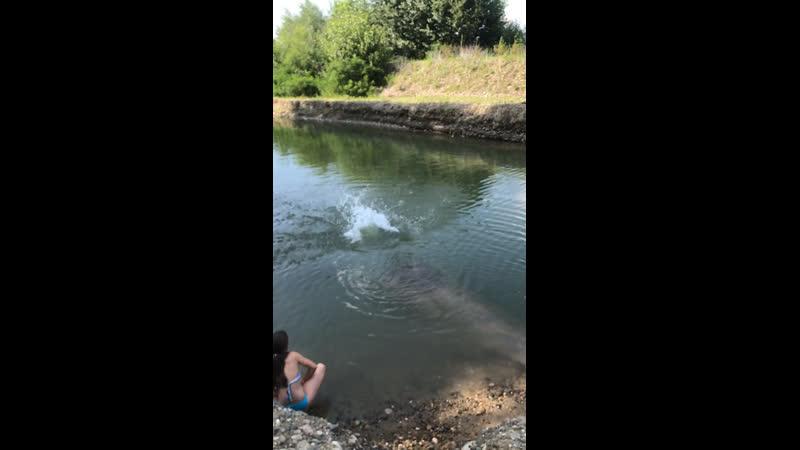 Плаваю нагишом